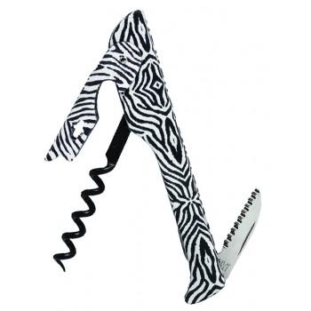 2026 Hugger™ Waiter's Corkscrew Designer Collection Zebra