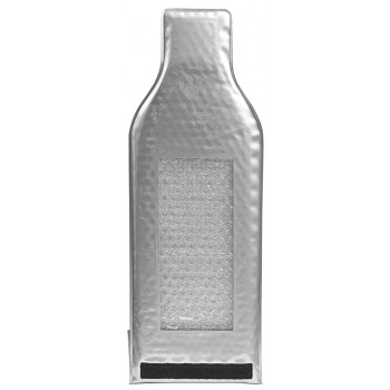 Wine Safeguard™ Reusable Bottle Protector, Silver (Heavy Duty)