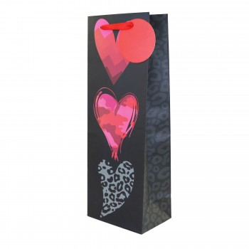 Patterns Of The Heart Wine Bag