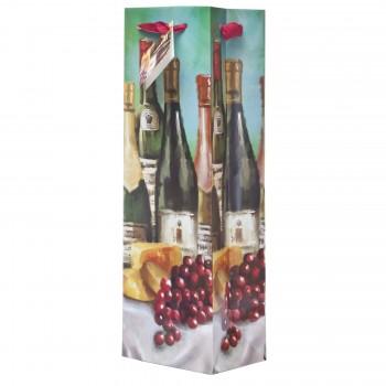 Festive Bottles Wine Bag