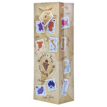 World Wine Regions Wine Bag