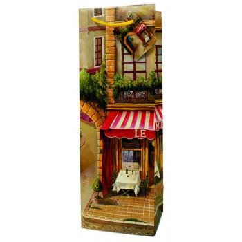 French Bistro  Paper Wine Bag