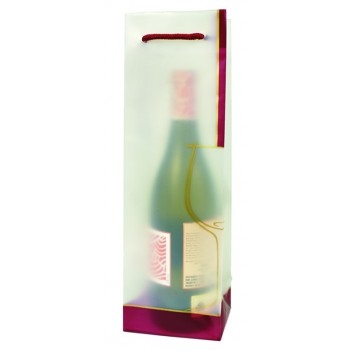 Wine Glass Translucent Plastic Wine Bag
