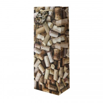 Corks Of All Sorts Wine Bottle Bag
