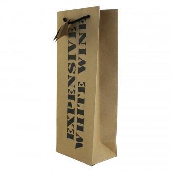 Expensive White Wine, Wine Bag *Web Exclusive*