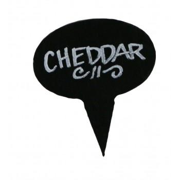 Slate Cheese Marker Set of 4/Coated