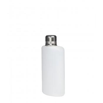 Plastic Travel Flask, 10 oz.