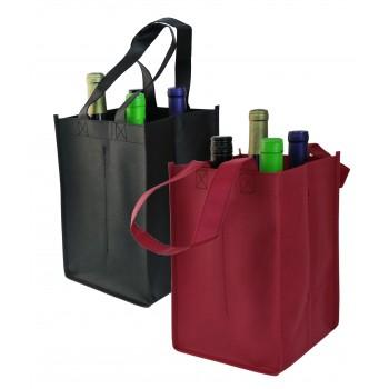Vino Sack™ Four-Bottle Bag, Open Top