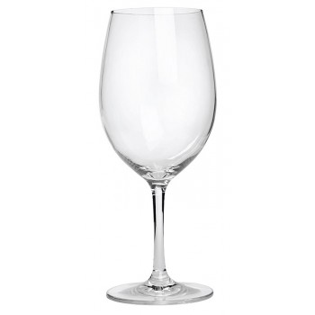 White Wine Glass, Acrylic, 12 oz Rim-full