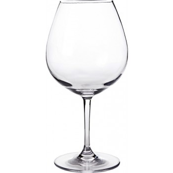 Burgundy Glass Tritan® Stem 24 oz. Rim-full