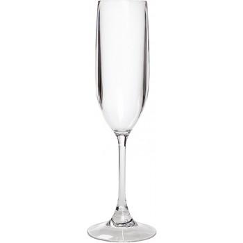 Champagne Flute Acrylic, 5.5 oz. Rim-full