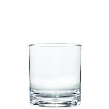 Old Fashioned Tumbler, Acrylic 14 oz. Rim-full