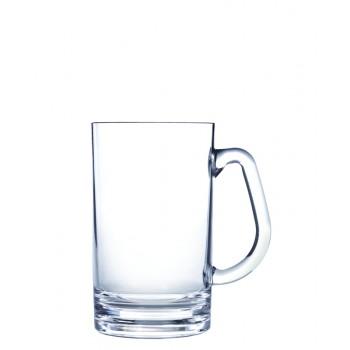 Beer Mug - Small, Acrylic 20 oz. Rim-full