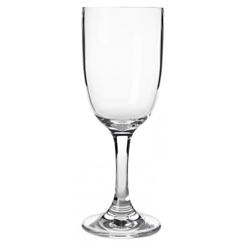 Wine Glass Acrylic Stem 8 oz. Rim-full