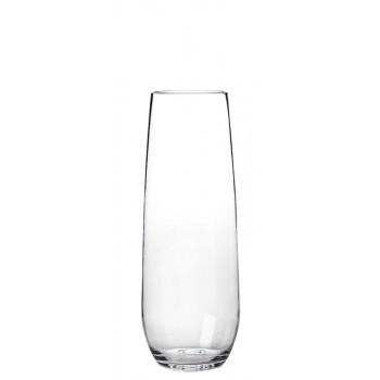 Stemless Tritan® Champagne Flute 8 oz. Rim-full