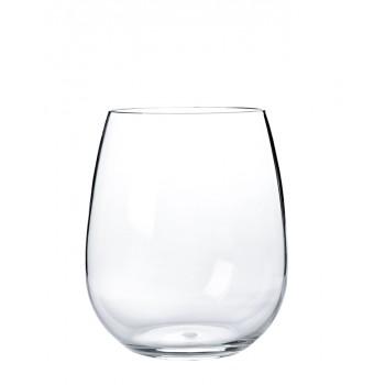 Steamless Acrylic Wine Tritan® Glass 16 oz. Rim-full