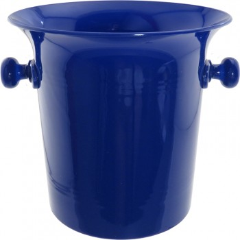 Vino Bottle Cooler, Blue Acrylic