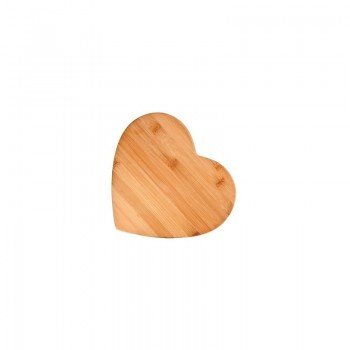 Bamboo Heart-Shaped Cutting Board, Small