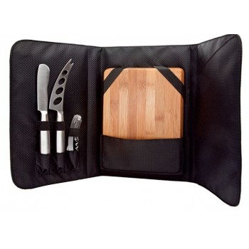 Picnic Cheese Set with Bamboo Board (5 pcs.)