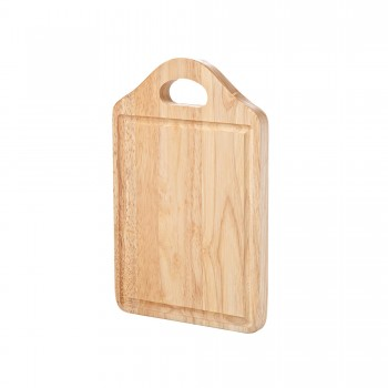 Rubberwood Cheese/Carving Board with handle