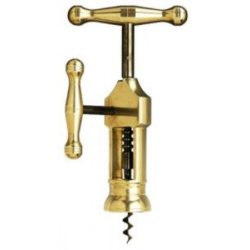 King's Corkscrew, Solid Brass