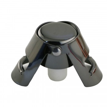 Quick Seal™ Graphite plated Stainless Steel Champagne Stopper