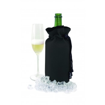 Black Cooler Bag for Champagne. Website Exclusive
