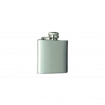 Captive-Top Pocket Flask, 2-1/2 oz.