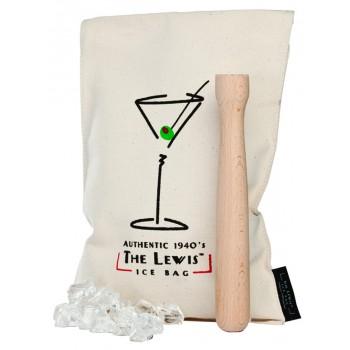 The Lewis™ Ice Bag with Beechwood Muddler