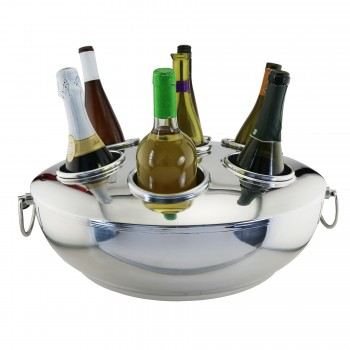 Celebration Seven-Bottle Double-Wall Cooler With Lid
