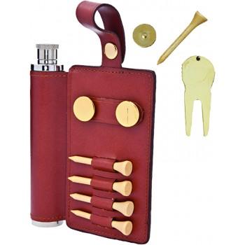 Golf Travel Flask Set, 2 oz.
