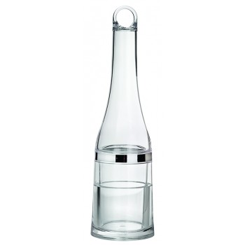 Portage Deluxe Portable Wine Chiller with Liquid Freezing Gel