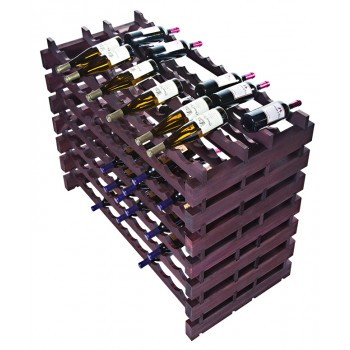 Modularack Pro® Double Deep Fixture 168 Bottles - Stained