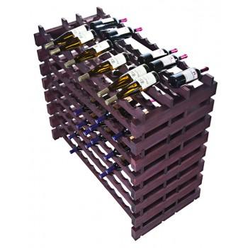 Modularack Pro® Double Deep Fixture 192 Bottles - Stained