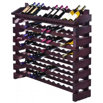 Modularack® Pro End Display Units 84 Bottles - Stained