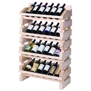 Modularack® Full Display Rack 24 Bottles - Natural