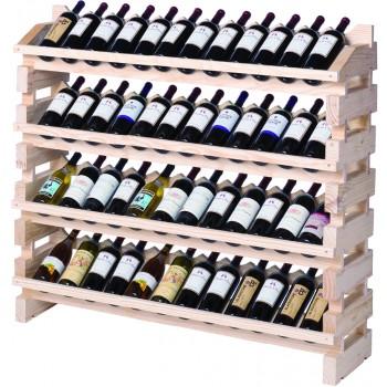 Modularack® Full Display Rack 48 Bottles - Natural
