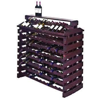 Modularack® Island Fixture Deluxe 192  Bottles – Stained