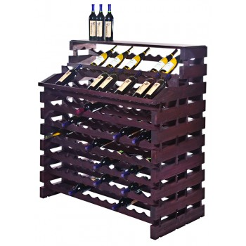 Modularack® Waterfall Fixture Deluxe 180 BOTTLES - Stained
