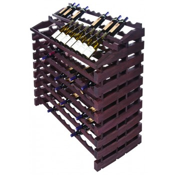 Modularack® Waterfall Fixture  204 Bottles - Stained