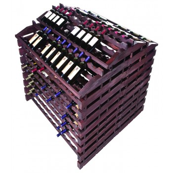 Modularack® Gondola Fixture 408 BOTTLES - Stained