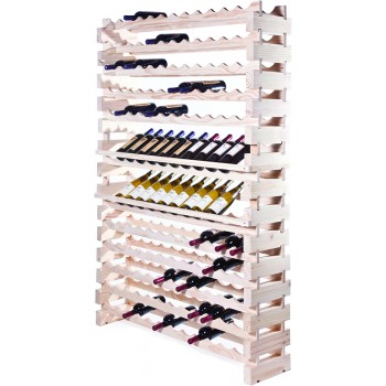 Modularack® Wall Mount Units 144 Bottles - Natural