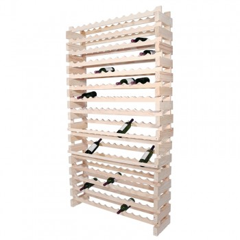 Modularack® Wall Mount Units 168 Bottles - Natural