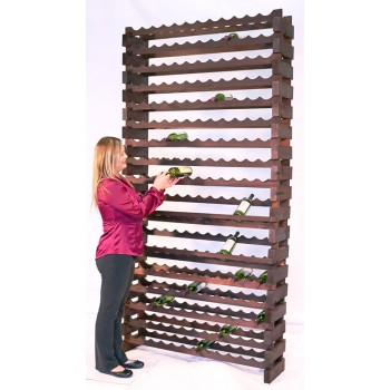 Modularack® Wall Mount Units 192 Bottles - Stained