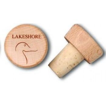Wood-Top Bottle Cork