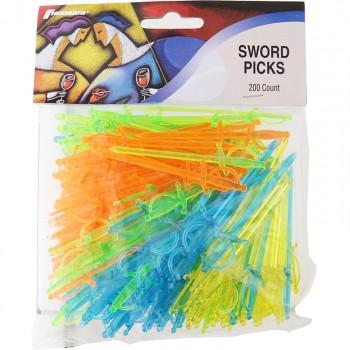Sword Picks, Translucent (160 Count)