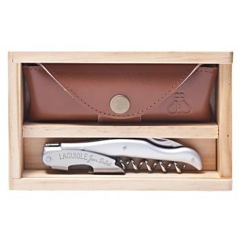 Laguiole Millésime® Silver Metallic ABS Handle Set