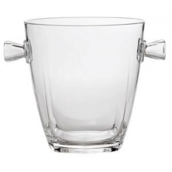 Crystal-Replica Acrylic Wine Cooler, Clear
