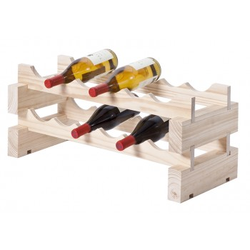 Modularack® 12 Bottle Rack 2H x 6W, Natural