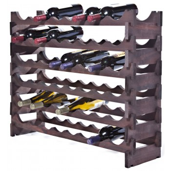 VinRack™  6 x 8=48 Bottle Rack, Stained